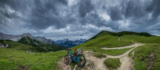 Gewitterstimmung im Karwendel