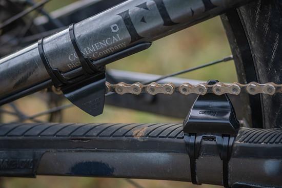 Die Anzahl der montierten ChainFins kann man je nach Rad und Bedarf variieren