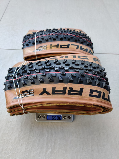 Schwalbe Racing Ray 29x2.25 Transparent Sidewall