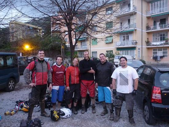 Nach einem Trailtag in Finale im November 2010