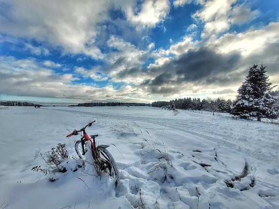 Trek FEX im Winter-Wonderland