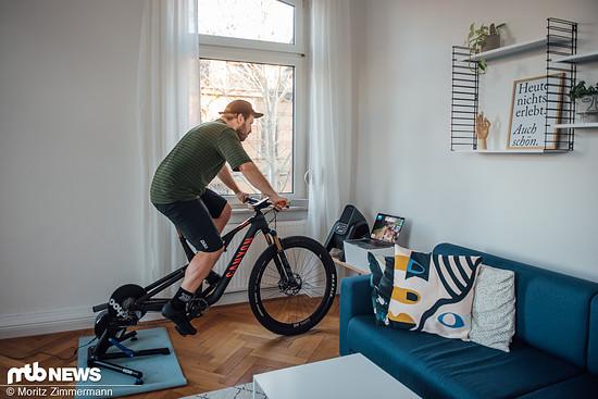 Kann Zwift das Mountainbiken im Winter ersetzen? Das werden wir in den kommenden Wochen in einem Selbstversuch für euch testen