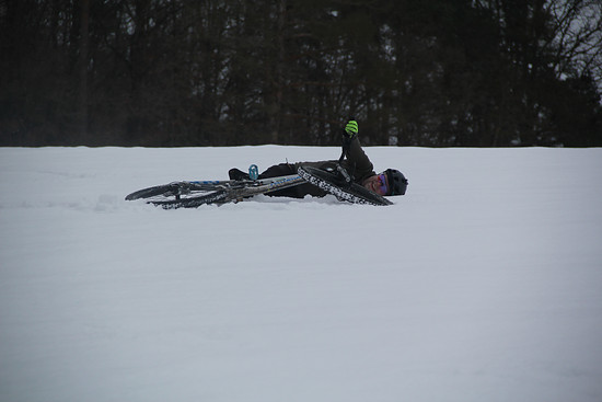 Was ne Gaudi im Schnee ;)