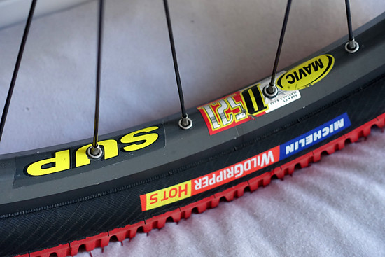 Mavic D521 Felgen auf Michelin Wildgripper Hot S Reifen