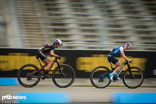 Die Regularien der Short Track-Rennen sorgen dafür, dass die Top-Stars wirklich alles in die Waagschale legen, um möglichst weit vorne zu landen