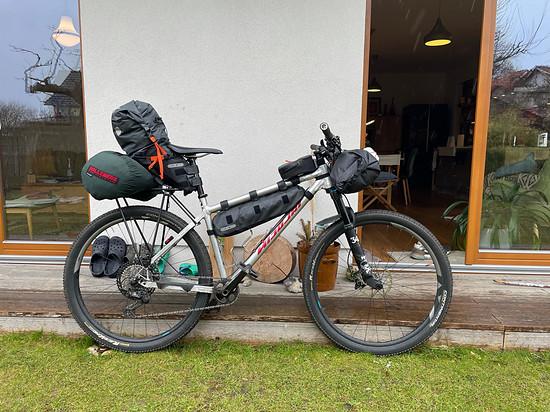 Nicolai GTB L Bike Packing