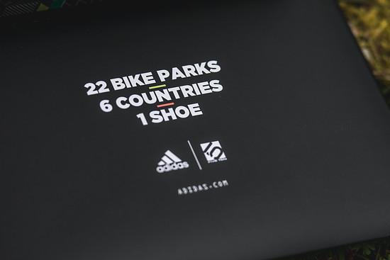 22 Bike Parks, 6 Länder, 1 Schuh
