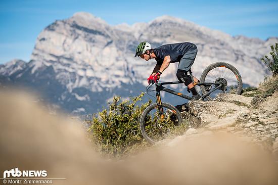 Trail Bikes sollen als Allrounder auf jeglichen Strecken glänzen