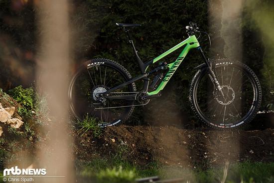 Das Canyon Spectral 29 ist eines der beliebtesten Trail Bikes, die es derzeit gibt