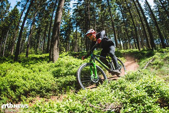 Trail Bikes müssen nicht teuer sein.