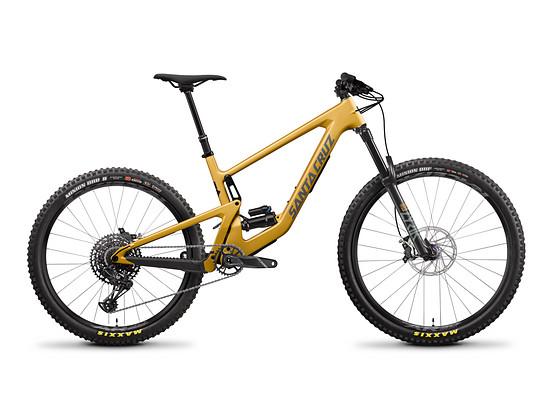 Das Santa Cruz Bronson C R ist das preiswerteste Bike im Bunde und wechselt für rund 5.000 € den Besitzer.