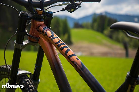 Dem UR-Team zufolge war man überrascht, auf was für einem guten Stand das NS Bikes Fuzz bereits war