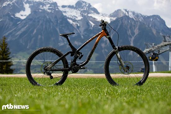 Mick Hannahs NS Bikes Fuzz-Hybrid
