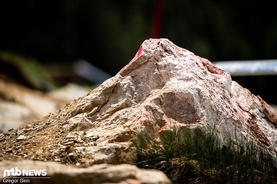 Naja, gut: Diesen Stein sollte man dann doch lieber nicht erwischen.