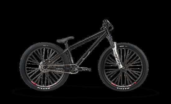"""26"""" Laufräder, 100 mm Federweg und ein Stahlrahmen"""