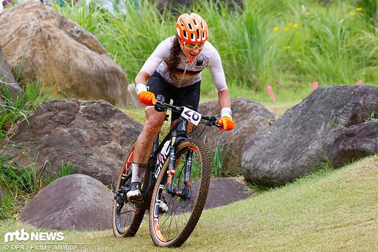 Bei Elisabeth Brandau löste sich auch beim olympischen Rennen in Tokio nicht der Knoten