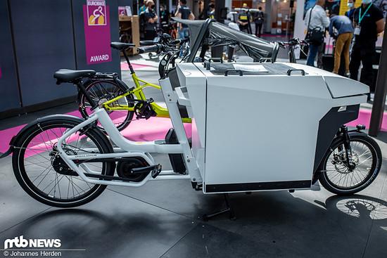 """Auch die Niederländer von Urban Arrow holten mit ihrem Lastenrad """"Craft"""" einen Award"""