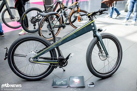 Design-E-Bike von Collen